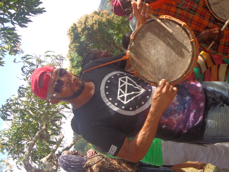 Playing the drum.JPG